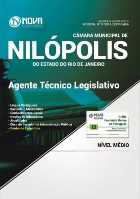 Apostila Câmara de Nilópolis - RJ - Agente Técnico Legislativo
