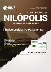 Apostila Câmara de Nilópolis - RJ - Técnico Legislativo Parlamentar