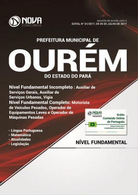 Apostila Pref. de Ourém-PA - Nível Fundamental Incompleto