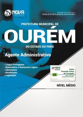 Apostila Pref. de Ourém-PA - Agente Administrativo