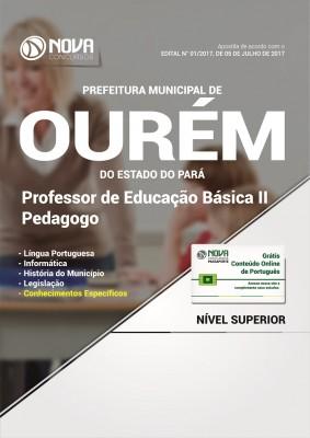 Apostila Pref. de Ourém-PA - Professor de Educação Básica II - Pedagogo