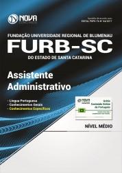 Apostila FURB-SC - Assistente Administrativo