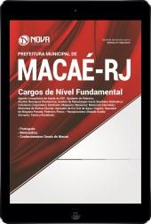 Download Apostila Prefeitura de Macaé-RJ Pdf - Cargos de Nível Fundamental