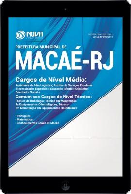 Download Apostila Prefeitura de Macaé-RJ Pdf - Cargos de Nível Médio e Técnico