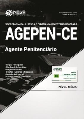 Apostila AGEPEN-CE (Sejus) 2017 - Agente Penitenciário