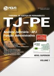 Apostila TJ-PE - Analista Judiciário - Função: Administrativa