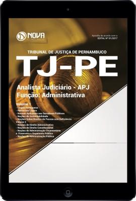 Download Apostila TJ-PE Pdf - Analista Judiciário - Função: Administrativa