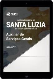 Download Apostila Câmara de Santa Luzia - MG Pdf - Auxiliar de Serviços Gerais