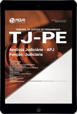 Download Apostila TJ -PE Pdf - Analista Judiciário - Função: Judiciária