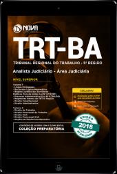 Download Apostila TRT-BA (5ª Região) PDF - Analista Judiciário - Área Judiciária