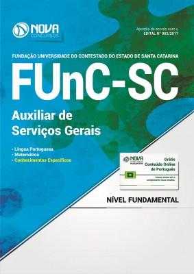 Apostila FUnC-SC - Auxiliar de Serviços Gerais
