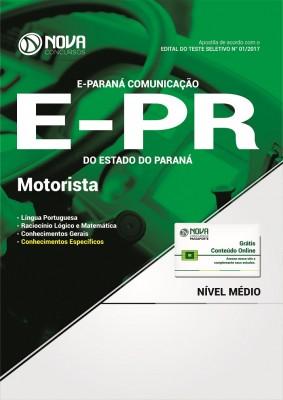 Apostila E-PR - Motorista