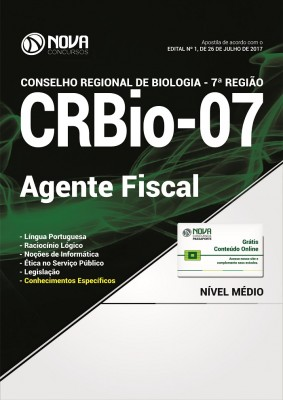 Apostila CRBio-PR 7ª Região - Agente Fiscal