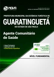 Apostila Prefeitura de Guaratinguetá - SP - Agente Comunitário de Saúde