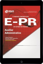Download Apostila E-PR Pdf - Auxiliar Administrativo