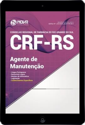 Download Apostila CRF-RS Pdf - Agente de Manutenção