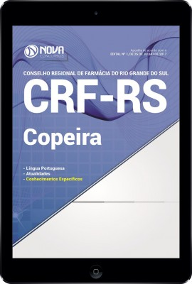 Download Apostila CRF-RS Pdf - Copeira