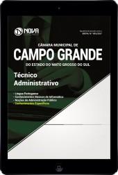 Download Apostila Câmara de Campo Grande - MS Pdf - Técnico Administrativo