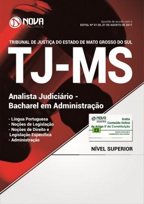 Apostila TJ-MS - Analista Judiciário / Bacharel em Administração