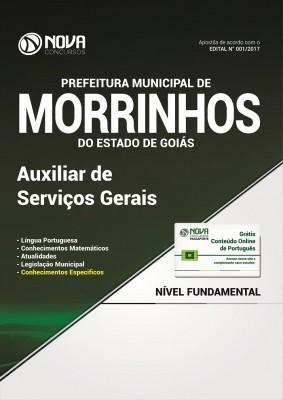 Apostila Prefeitura de Morrinhos - GO - Auxiliar de Serviços Gerais
