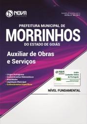 Apostila Pref. de Morrinhos - GO - Auxiliar de Obras e Serviços