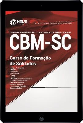 Download Apostila CBM-SC Pdf - Curso de Formação de Soldados