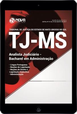 Download Apostila TJ-MS Pdf - Analista Judiciário / Bacharel em Administração