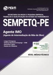 Apostila SEMPETQ-PE - Agente de Intermediação de Mão de Obra