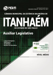 Apostila Câmara de Itanhaém - SP - Auxiliar Legislativo