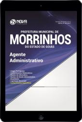 Download Apostila Pref. de Morrinhos - GO Pdf - Agente Administrativo