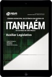Download Apostila Câmara de Itanhaém - SP Pdf - Auxiliar Legislativo