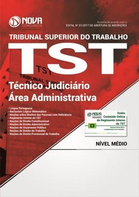 Apostila TST 2017 - Técnico Judiciário – Área Administrativa