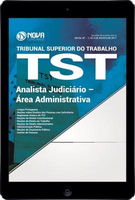 Download Apostila TST Pdf - Analista Judiciário – Área Administrativa