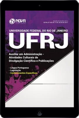 Download Apostila UFRJ Pdf - Auxiliar em Administração - Atividades Culturais de Divulgação Científica e Publicações