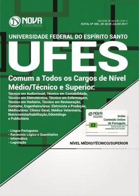 Apostila UFES - Comum a Todos os Cargos de Nível Médio/Técnico e Superior