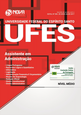 Apostila UFES - Assistente em Administração