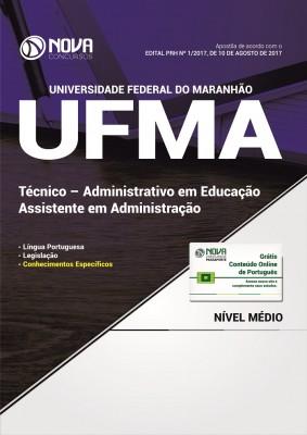 Apostila UFMA 2017 - Assistente em Administração