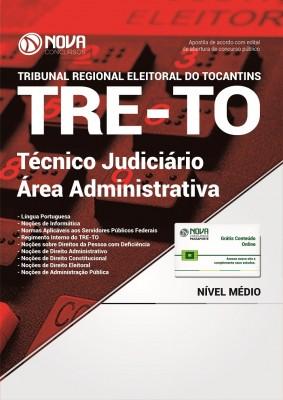 Apostila TRE-TO - Técnico Judiciário - Área: Administrativa