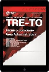 Download Apostila TRE-TO Pdf - Técnico Judiciário - Área: Administrativa