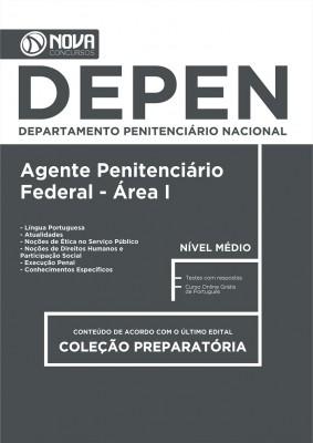 Apostila DEPEN -  Agente Penitenciário Federal – Área 1