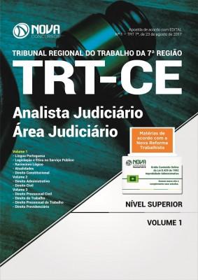 Apostila TRT-CE 7 ª Região - Analista Judiciário - Área judiciária
