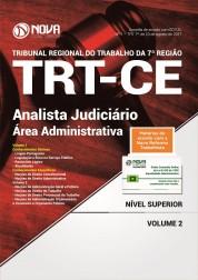 Apostila TRT-CE 7 ª Região - Analista Judiciário - Área administrativa
