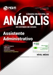 Apostila Câmara de Anápolis - GO - Assistente Administrativo