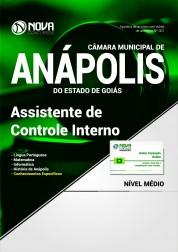 Apostila Câmara Mun. de Anápolis - GO - Assistente de Controle Interno