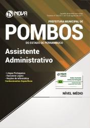 Apostila Prefeitura de Pombos - PE - Assistente Administrativo