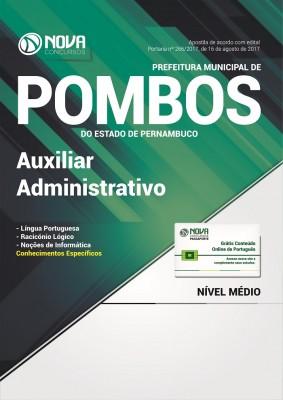 Apostila Prefeitura de Pombos - PE - Auxiliar Administrativo