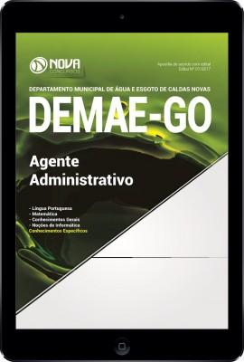 Download Apostila DEMAE-GO Pdf - Agente Administrativo
