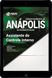 Download Apostila Câmara Mun. de Anápolis - GO Pdf - Assistente de Controle Interno