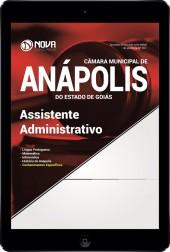 Download Apostila Câmara de Anápolis - GO Pdf - Assistente Administrativo