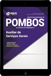 Download Apostila Prefeitura de Pombos - PE Pdf - Auxiliar de Serviços Gerais